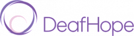 Deaf Hope logo